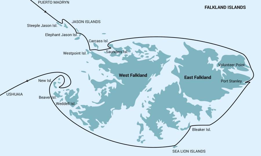 falkland - フォークランド諸島クルーズ